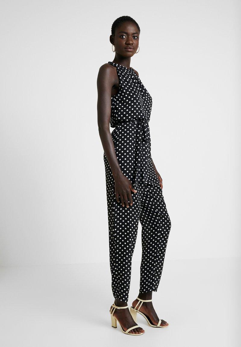 Wallis Tall - SPOT HALTER JUNE - Jumpsuit - black
