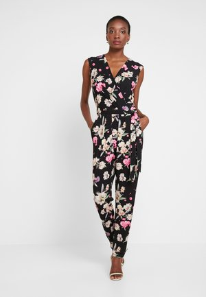 SUMMER PETAL - Jumpsuit - black