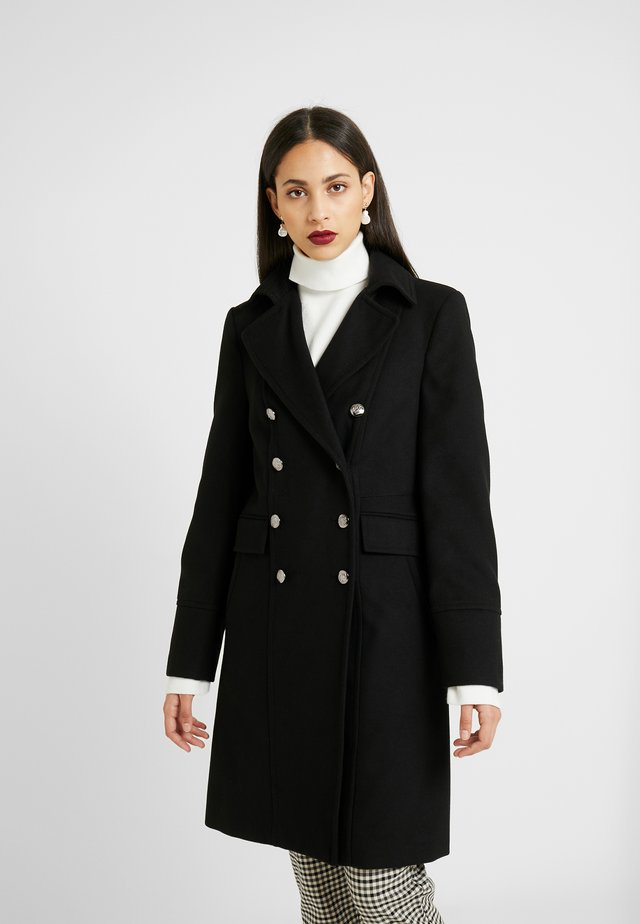 MILITARY COAT - Classic coat - black