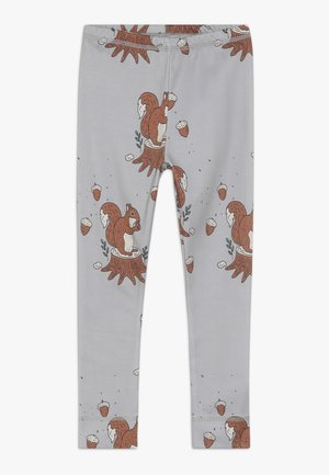 Leggings - Trousers - light grey