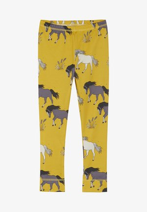 Leggings - Hosen - dark yellow