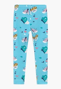 Walkiddy - FUNNY BUTTERFLIES 2 PACK - Leggings - Trousers - turquoise/dark blue - 1