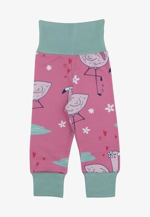 CUTE FLAMINGO - Tracksuit bottoms - pink