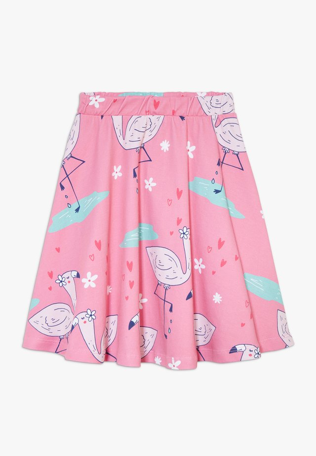 CUTE FLAMINGO SKIRT - A-line skirt - pink