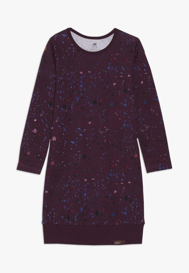 Sukienka z dżerseju - bordeaux