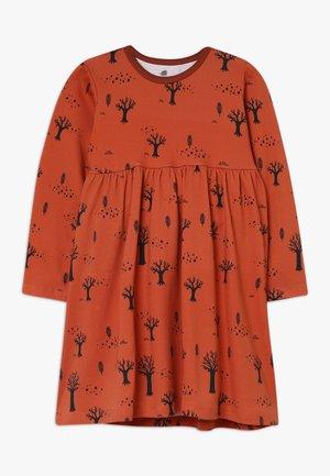 Jerseykleid - orange
