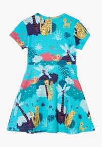 Walkiddy - TROPICAL LEOPARDS - Jersey dress - blue - 1