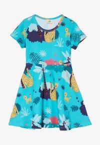 Walkiddy - TROPICAL LEOPARDS - Jersey dress - blue - 2