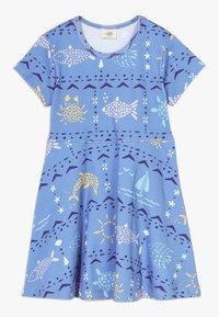 Walkiddy - MOSAIC ANIMALS DRESS - Robe en jersey - blue - 0