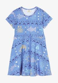 Walkiddy - MOSAIC ANIMALS DRESS - Robe en jersey - blue - 2