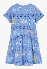 Walkiddy - MOSAIC ANIMALS DRESS - Robe en jersey - blue - 1