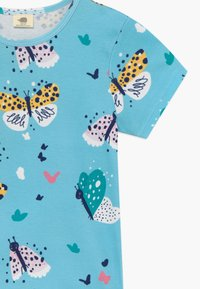 Walkiddy - FUNNY BUTTERFLIES 2 PACK - T-shirt con stampa - turquoise/pink - 4