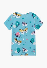 Walkiddy - FUNNY BUTTERFLIES 2 PACK - T-shirt con stampa - turquoise/pink - 1