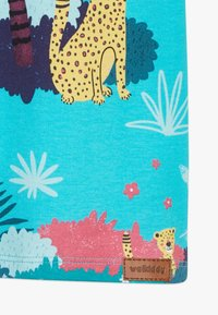 Walkiddy - TROPICAL LEOPARDS 2 PACK - Print T-shirt - blue/yellow - 2