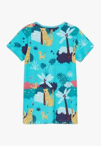 Walkiddy - TROPICAL LEOPARDS 2 PACK - Print T-shirt - blue/yellow - 1