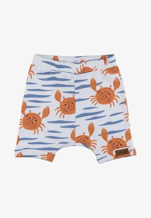 HAPPY CRABS - Shorts - white