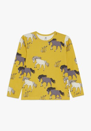 Camiseta de manga larga - dark yellow