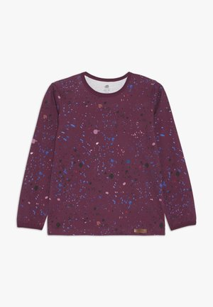 Long sleeved top - dark purple