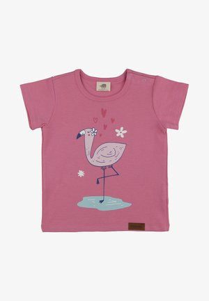 CUTE FLAMINGO - Print T-shirt - pink