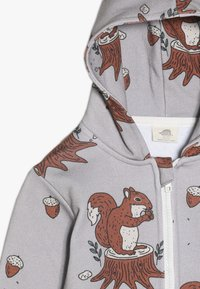 Walkiddy - veste en sweat zippée - light grey - 4