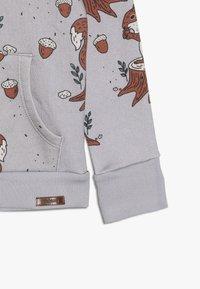 Walkiddy - veste en sweat zippée - light grey - 2