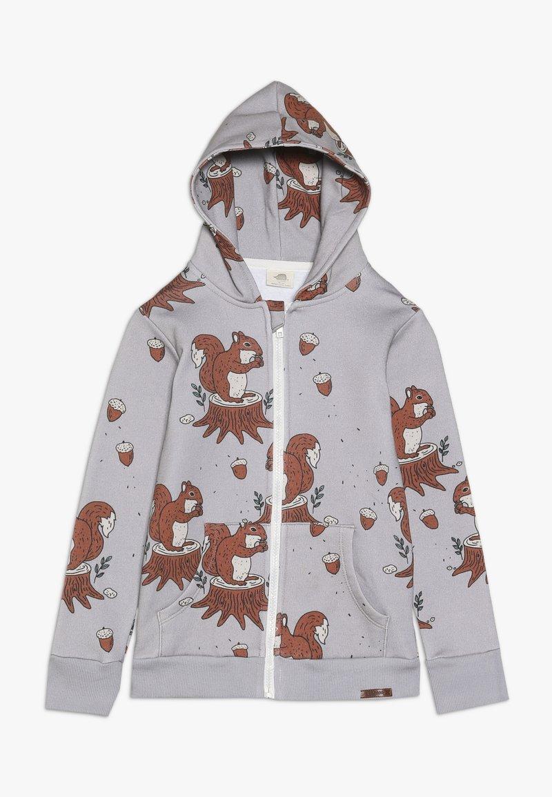 Walkiddy - veste en sweat zippée - light grey