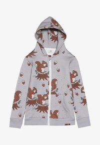 Walkiddy - veste en sweat zippée - light grey - 3