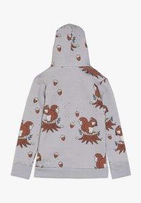Walkiddy - veste en sweat zippée - light grey - 1