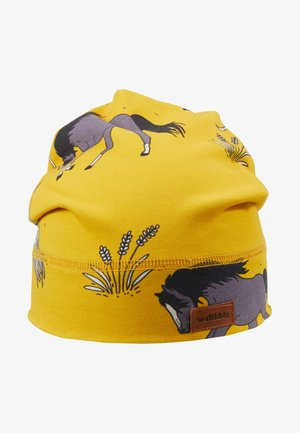 Bonnet - dark yellow