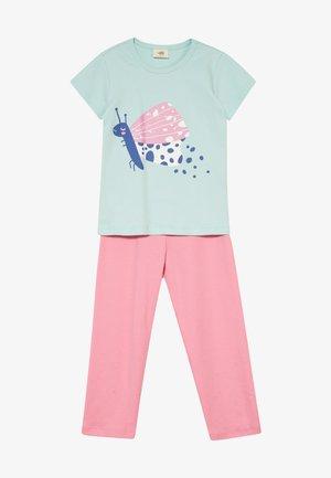 FUNNY BUTTERFLIES SET - Pyžamová sada - turquoise
