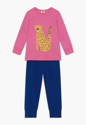 TROPICAL LEOPARDS  - Pyjama set - blue