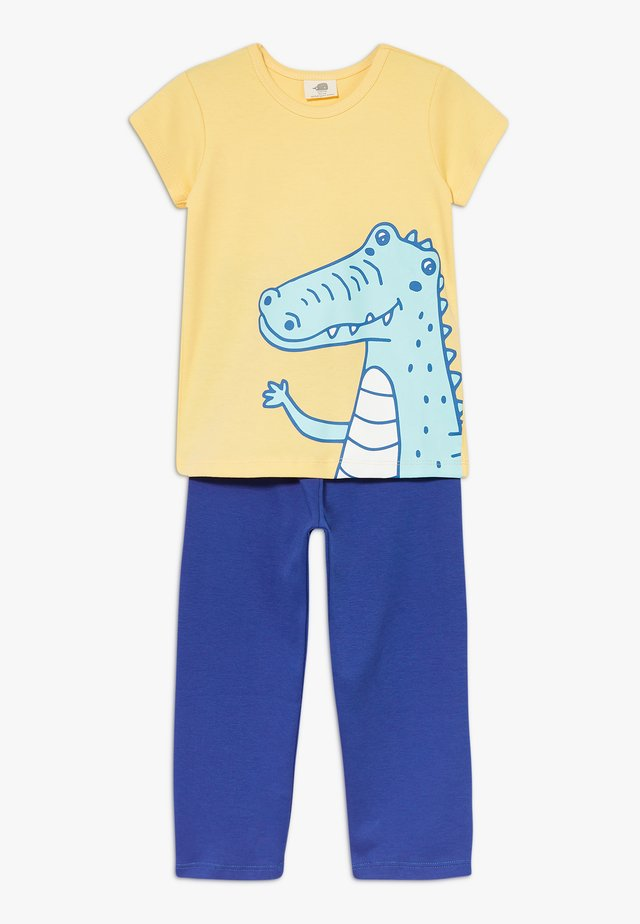 CROCODILE SURFING SET - Pyjama set - blue