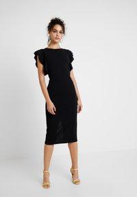 WAL G TALL - Pouzdrové šaty - black - 1