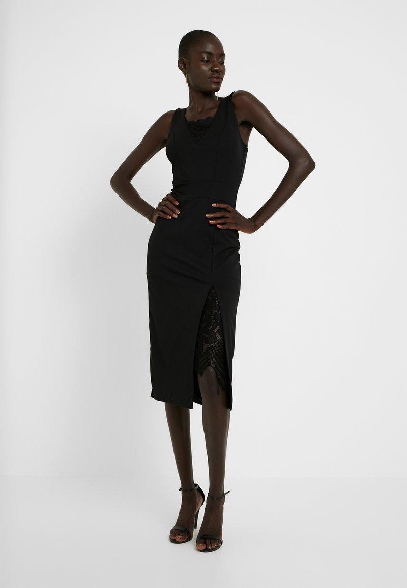 WAL G TALL - Koktejlové šaty/ šaty na párty - black