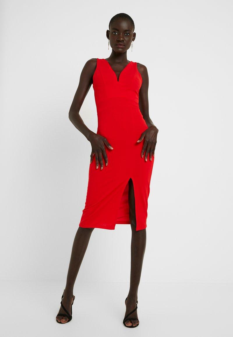 WAL G TALL - Fodralklänning - red