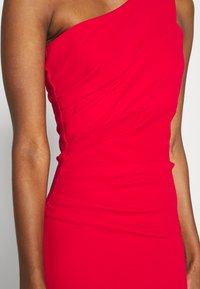 WAL G TALL - ONE SHOULDER RUCHED MAXI DRESS - Vestido de fiesta - red - 5