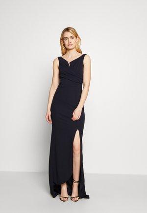 BARDOT DRESS - Sukienka letnia - navy
