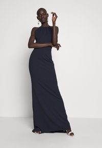 WAL G TALL - TALL MAXI HALTER NECK DRESS - Denní šaty - navy - 2