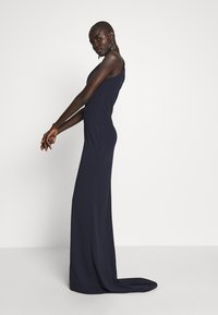 WAL G TALL - TALL MAXI HALTER NECK DRESS - Denní šaty - navy - 4