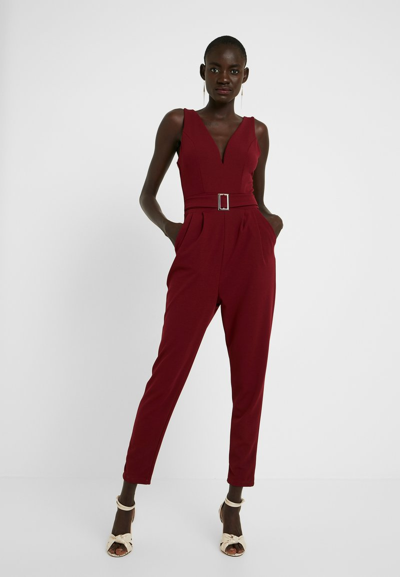 WAL G TALL - Overall / Jumpsuit /Buksedragter - wine