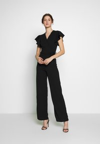 WAL G TALL - CAP SLEEVE - Jumpsuit - black - 1