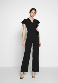 WAL G TALL - CAP SLEEVE - Jumpsuit - black - 0