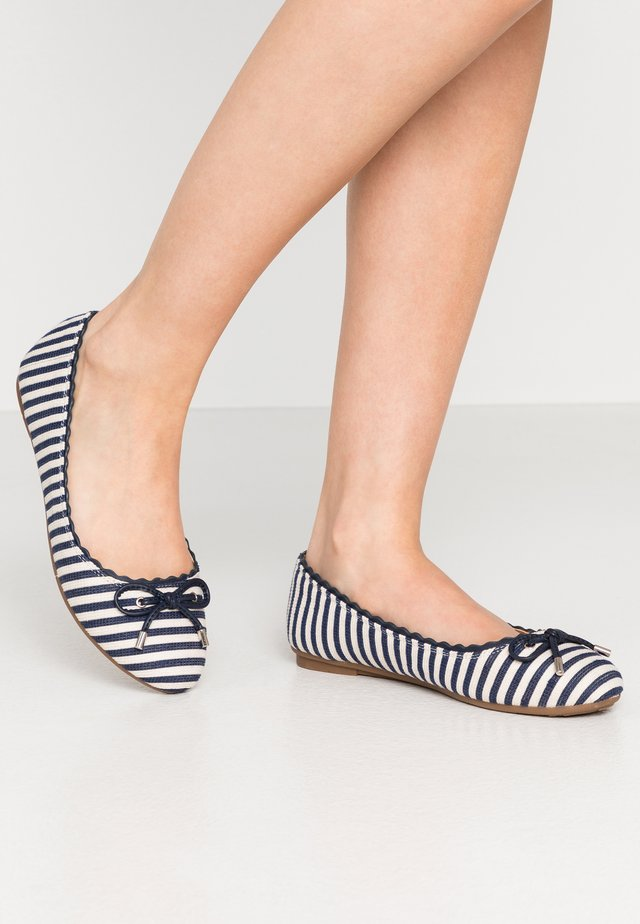WILLOW - Ballet pumps - blue