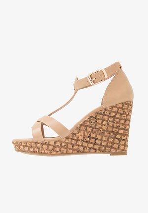 WHIMSEY - High Heel Sandalette - beige
