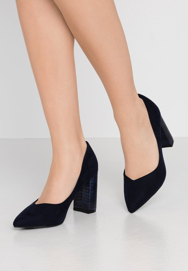 WIDE FIT WILDROSE - High heels - navy