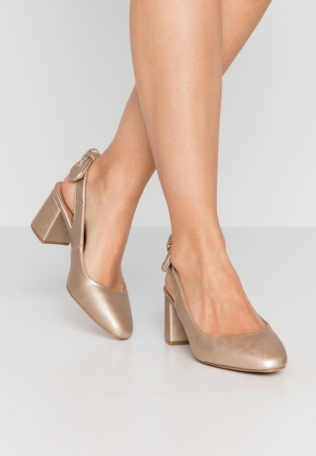 WISDOM - Wedges - gold