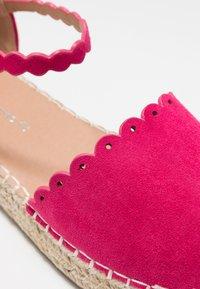 Wallis Wide Fit - WANDER - Espadrilles - pink - 2