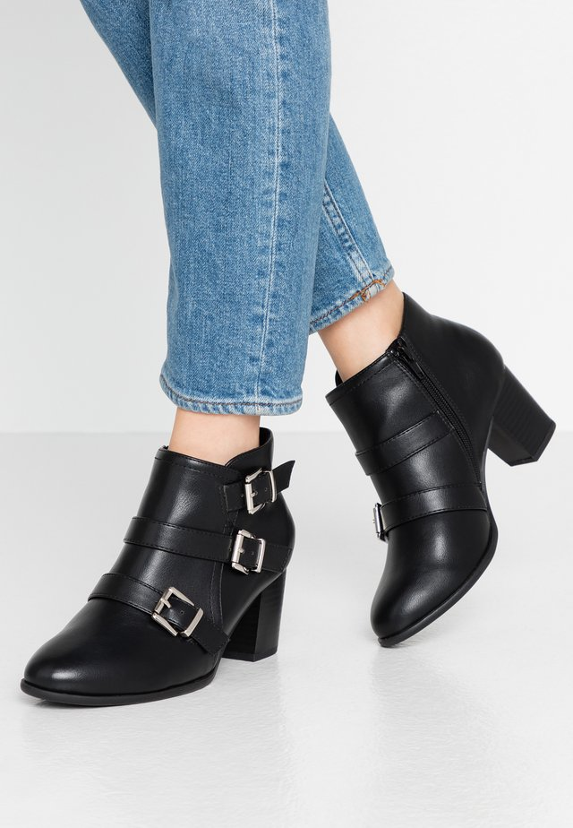 WIDE FIT WREN - Ankle boots - black