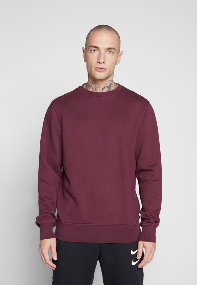 UNISEX - Sweatshirt - burgundy