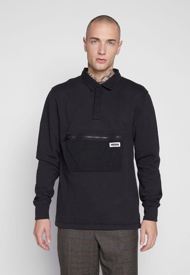 UNISEX JONAH RUGBY - Sweatshirt - black
